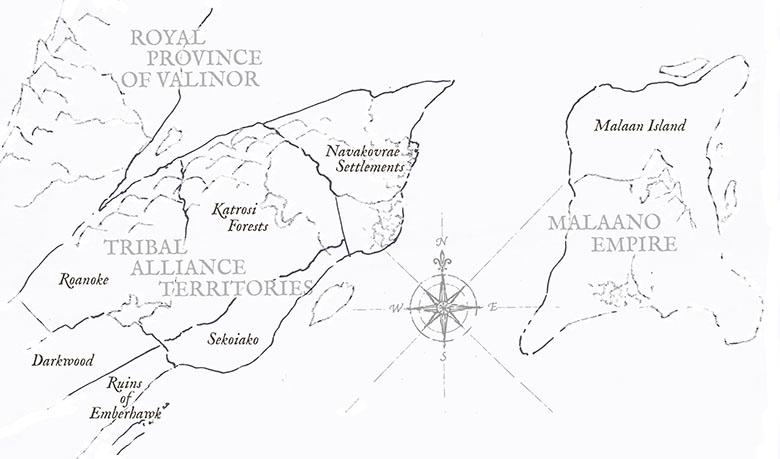 Emberhawk regional map