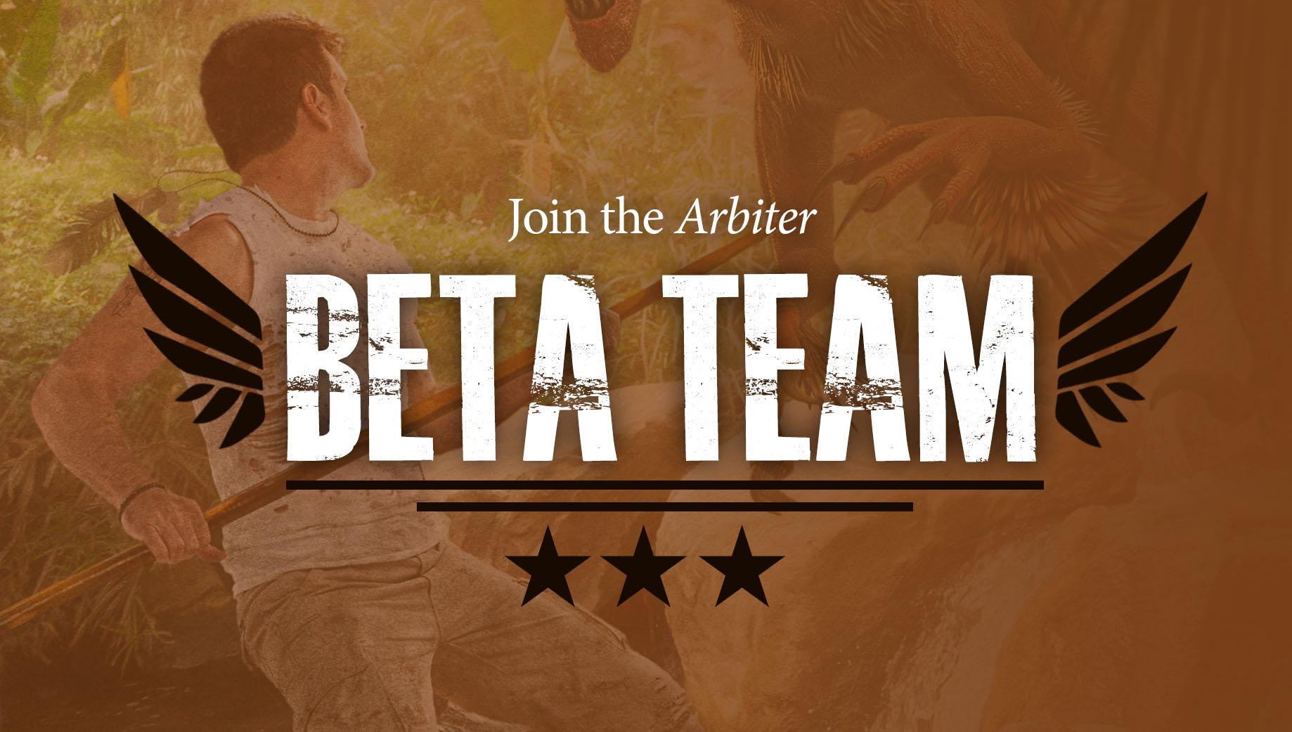 Join the elite Arbiter Beta Reader Team