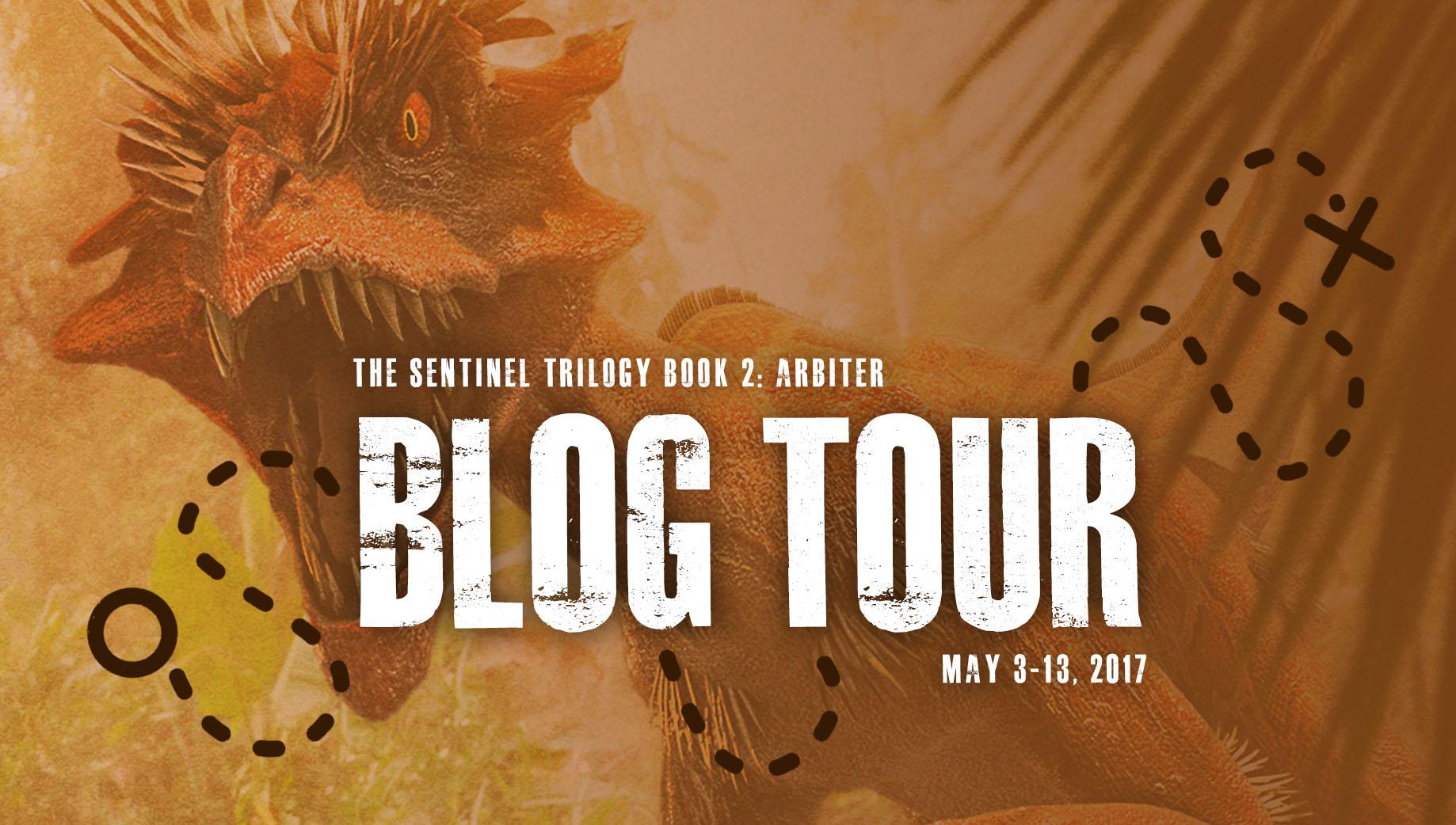 Join the Arbiter blog tour!
