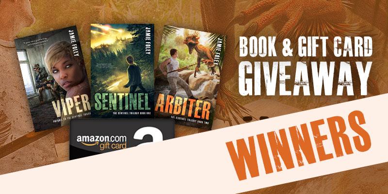 Arbiter blog tour giveaway winners!