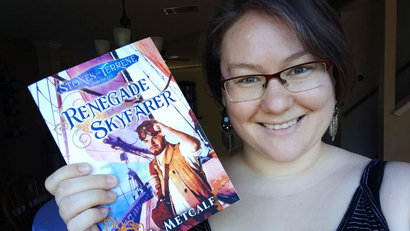 Book Review: Renegade Skyfarer by RJ Metcalf