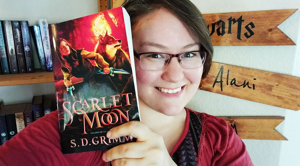 Book Review: Scarlet Moon by S.D. Grimm