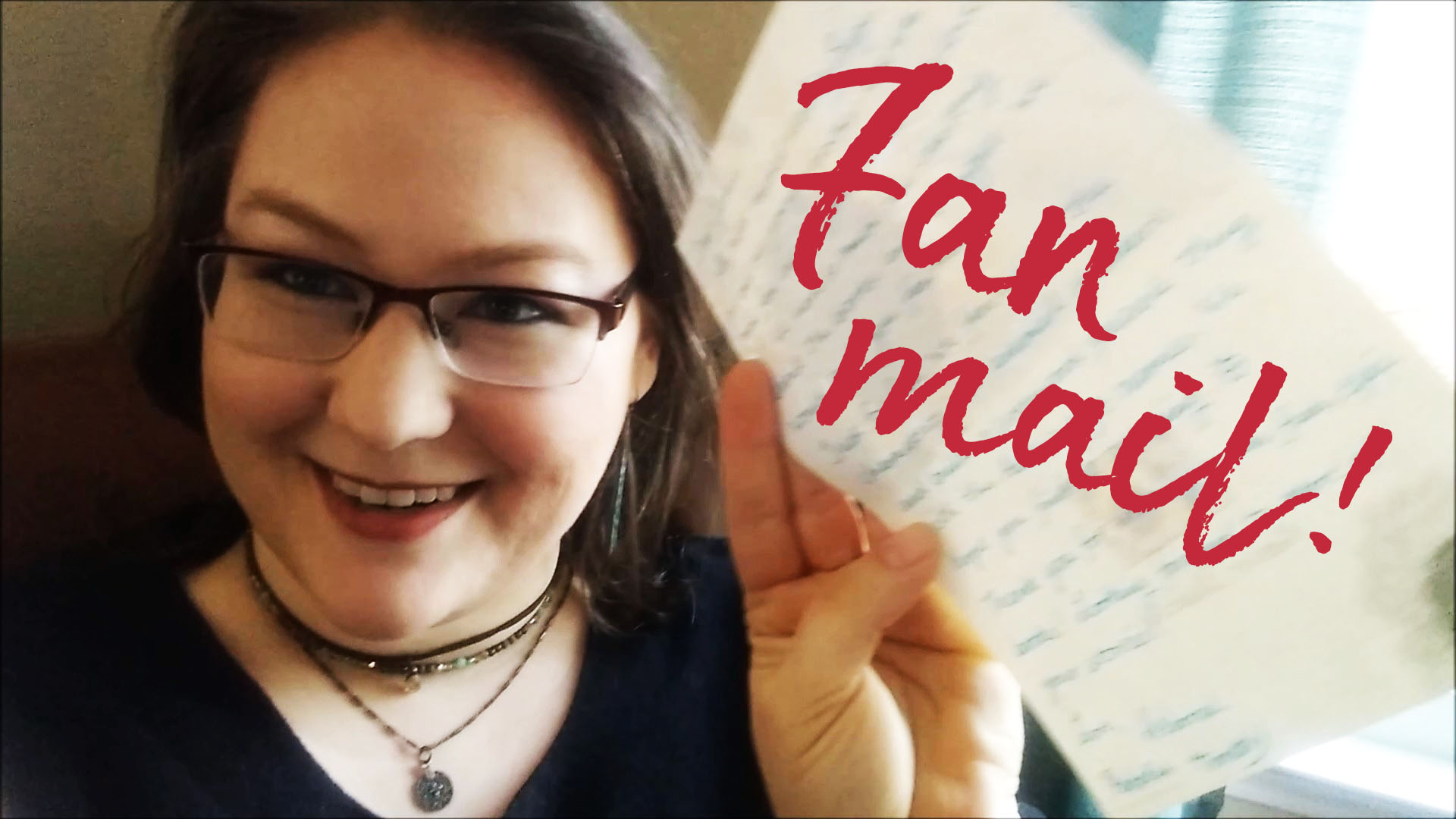 Opening adorable squeal-worthy fan mail