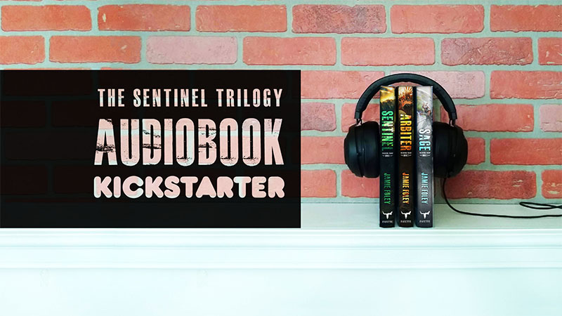 WHAT?? A Sentinel Trilogy audiobook Kickstarter??