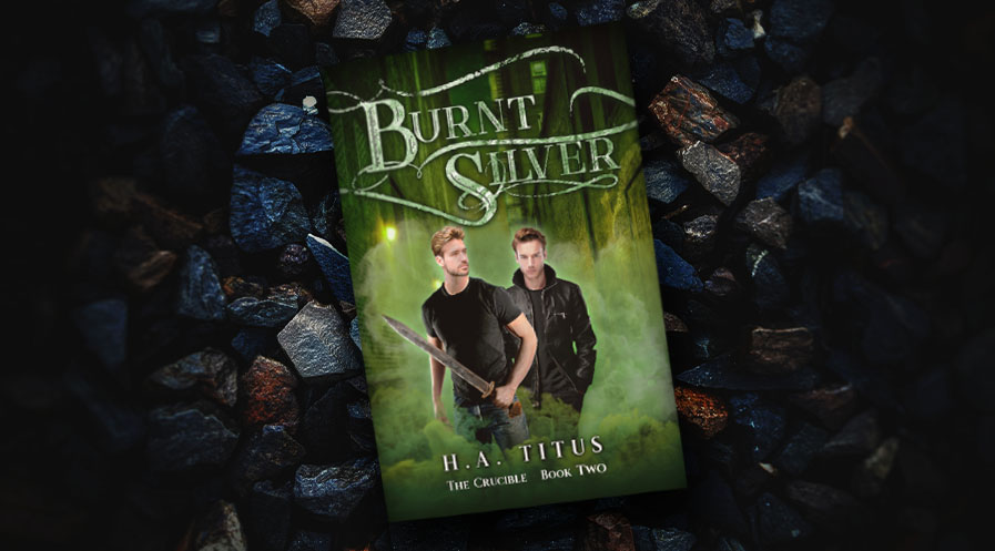 Cover reveal: Burnt Silver by H. A. Titus