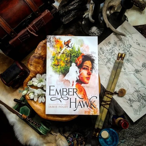 It's Emberhawk release day! Launch party TONIGHT